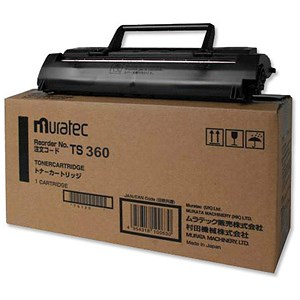 Image of Muratec Laser Toner Cartridge Black Ref TS360