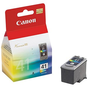 Image of Canon CL-41 Inkjet Cartridge Page Life 308pp Colour Ref 0617B001