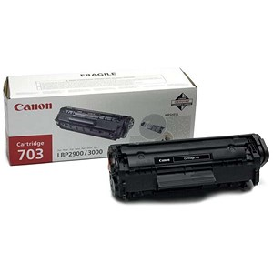 Image of Canon 703 Laser Toner Cartridge Page Life 2000pp Black Ref 7616A005