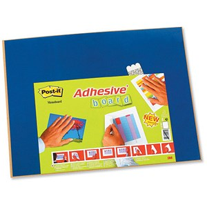 Image of Post-it Adhesive Board Classic W585xH460mm Blue Ref 558NB