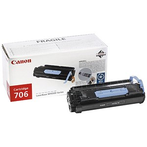 Image of Canon 706 Laser Toner Cartridge Page Life 5000pp Black Ref 0264B002