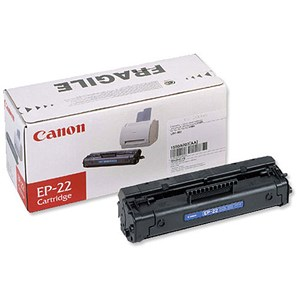 Image of Canon EP-22 Laser Toner Cartridge Page Life 2500pp Black Ref 1550A003