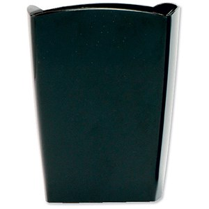 Image of 5 Star Pencil Pot W74xD74xH105mm Black