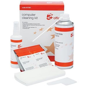 Image of 5 Star Home and Office Computer Cleaning Kit