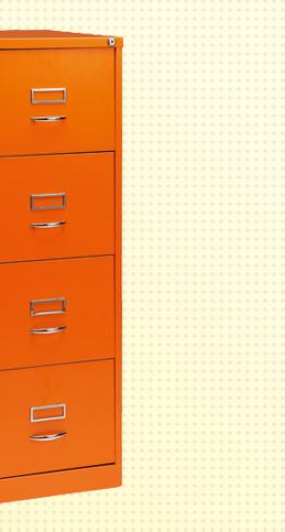 Bisley GLO filing cabinet