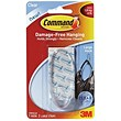 Command Oval Adhesive Single Hook / Large / Clear