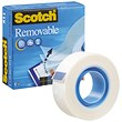 Scotch Removable Magic Tape - 19mm x 33m