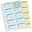 Durable Visitors Book Refill of 100 Badge Inserts