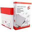 5 Star A4 Multifunctional Paper - White - 80gsm - Box (5 x 500 Sheets)