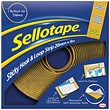Sellotape Sticky Hook and Loop - 20mmx6m