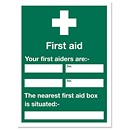 First Aid Signs