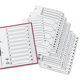 Image of Concord Classic Index / Mylar-reinforced / Punched 4 Holes / 1-54 / A4 / White