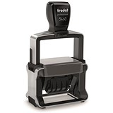 Image of Trodat Professional TVC5460 Bespoke Line Dater Stamp / Self-Inking / 55x32mm