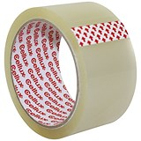 Sellotape Economy Cellux Tape / 48mmx50m / Clear / Pack of 6