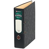 Image of Rexel Classic A4 Lever Arch Files / Slotted Covers / 70mm Spine / Cloudy Grey / Pack of 10