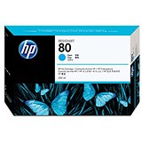 Image of HP 80 Cyan Ink Cartridge