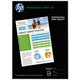 Image of HP A4 Professional Matt Inkjet Paper / White / 120gsm / 200 Sheets
