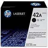 Image of HP 42A Black Laser Toner Cartridge