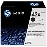 Image of HP 42X Black Laser Toner Cartridge