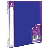 Image of Concord Vibrant Ring Binder / 2 O-Ring / 40mm Spine / 25mm Capacity / A4 / Purple / Pack of 10