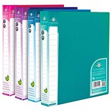 Image of Concord Vibrant Ring Binder / 2 O-Ring / 30mm Spine / 15mm Capacity / A4 / Assorted / Pack of 10