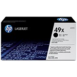 HP 49X Black Laser Toner Cartridge