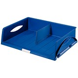 Image of Leitz Jumbo Letter Tray - Blue