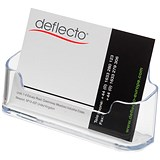 Image of Desktop Business Card Holder / Single Pocket / Clear