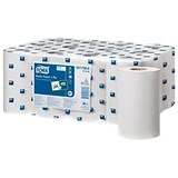 Image of Tork Basic Mini Centrefeed Rolls / 1-Ply / 12 Rolls
