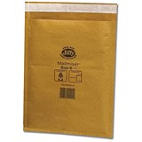 Image of Jiffy Mailmiser No.6 Bubble-lined Protective Envelopes / 290x445mm / Gold / Pack of 50