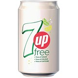 7UP Light - 24 x 330ml Cans