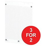 Image of Oxford Smart Flip Chart Square / A1 / 3 for the Price of 2