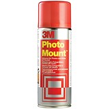 Image of 3M PhotoMount Adhesive Spray Can - 400ml