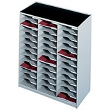 Paperflow Modulodoc Mailsorter / 36 x A4 Compartments / Grey