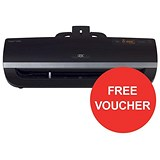 Image of GBC Fusion 5000L High Speed Laminator / Up to 500 Microns / A3 / Redeem your FREE £20 High Street Vouchers