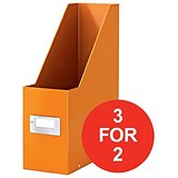 Image of Leitz WOW Click & Store Magazine File / Orange / 3 for the Price of 2