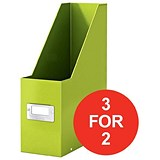 Image of Leitz WOW Click & Store Magazine File / Green / 3 for the Price of 2