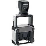 Image of Trodat Professional 5030 Self-inking Dater Stamp with Metal Frame