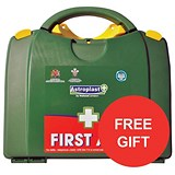 Image of Wallace Cameron BS8599-1 Medium First Aid Kit - 1-20 Users / Offer Includes FREE Poster