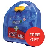 Image of Wallace Cameron BS8599-1 Medium First Aid Kit Food Hygiene / Offer Includes FREE Plasters