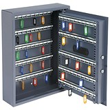 Image of High Security Key Safe with Electronic Key Pad and 30mm Double Bolt Locking 100 Keys