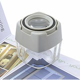 5 Star Focusing Cube Magnifier 8x Magnification