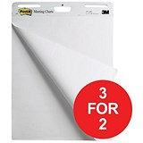 Image of Post-It Meeting Chart / Self-Adhesive / 30 Sheets / A1 / Pack of 2 / 3 for the Price of 2