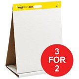 Image of Post-it Table Top Meeting Chart / 20 Self-Adhesive Sheets / W508xH584mm / 3 for the Price of 2