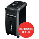 Image of Fellowes 99Ci Professional Shredder / Cross-cut / P-4 / Redeem Your £40 Cashback