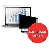 Image of Fellowes Blackout Privacy Filter / 22 inch Widescreen / 16:10 / Redeem Your £10 Cashback