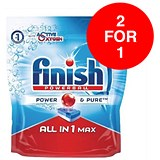 Image of Finish Dishwasher Powerball Tablets All In 1 / Pack of 53 / Buy One Get One FREE