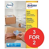 Image of Avery BlockOut Laser Addressing Labels / 8 per Sheet / 99.1x67.7mm / White / L7165-100 / 800 Labels / 3 for the Price of 2