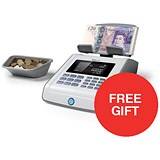 Image of Safescan 6185 Coin and Banknote Counter - Offer Includes FREE Software Update worth £49