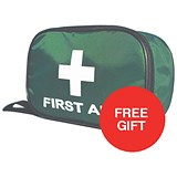 Image of Wallace Cameron BS 8599-2 Compliant First Aid Travel Kit / Medium / Offer Includes FREE Plasters